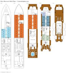 silver discoverer deck plans diagrams pictures video