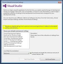 visual studio reset application settings lost color coding in visual studio 2012 mark of the geek