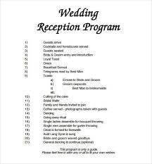 word template for wedding program wedding program template 61 free word pdf psd documents