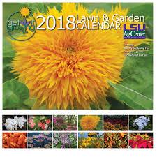 2018 get it growing lawn u0026 garden calendar