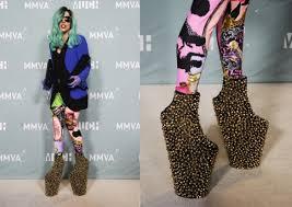 amazing shoes style of lady gaga nationtrendz com