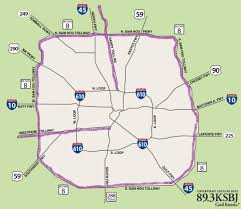 traffic map houston learning houston roads tolls housetonian