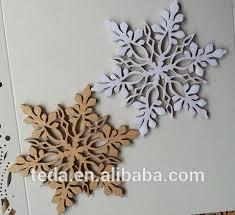 laser cut wooden snowflake tree ornaments buy
