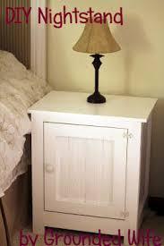 grounded wife diy nightstand