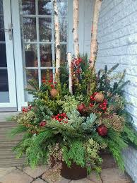 Christmas Decorations Outdoor Ideas - best 25 christmas greenery ideas on pinterest christmas