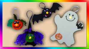 easy halloween crafts youtube