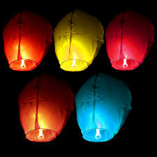 wishing paper 5pc wishing paper sky lanterns flying balloons with fuel for