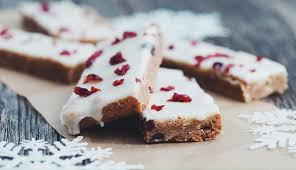 white chocolate cranberry cookie bars for food