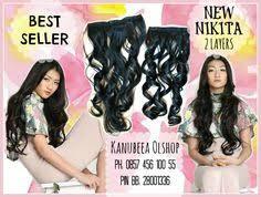 hair clip rambut senangnya lihat customer lismalia yang cantik dengan hair clip