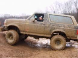 mudding trucks bronco mudding finally local tavern ford bronco zone early
