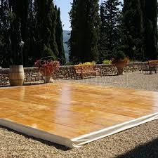 pedana legno pedana legno pista da ballo mt 6x8 per eventi feste matrimoni