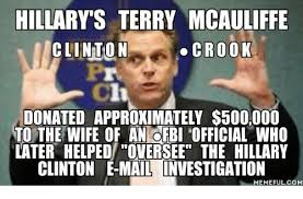 Donation Meme - hillary s terry mcauliffe clinton crook donated approximately