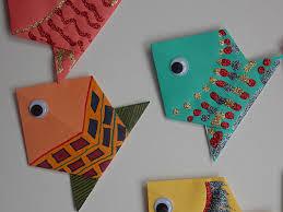 origami fish u2013 easycraftsforchildren