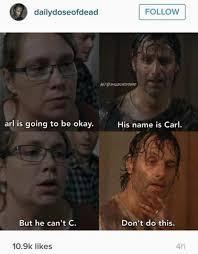 Memes Walking Dead - arl the walking dead know your meme