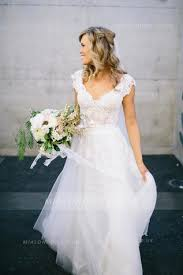 simple a line wedding dresses and gowns uk at mialondon from top