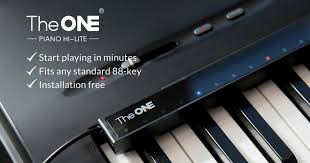 keyboard that lights up to teach you how to play piano hi lite play piano in 3 minutes indiegogo