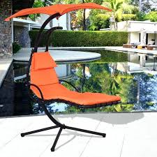 swinging chaise lounge hanging chaise lounge chair arc stand air