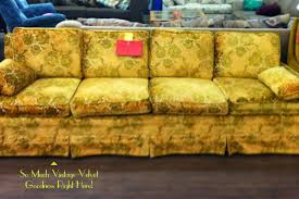 Floral Sofas In Style Gypsy Yaya My Obsession With Vintage Couches