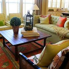 Colorful Living Room Rugs Green Sofa Design Ideas