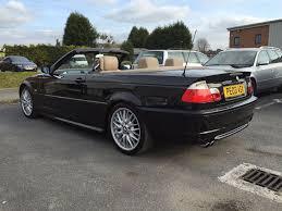 black bmw 330ci convertible msport automatic e46 full service