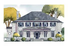 traditional colonial house plans eplans colonial house plan eclectic yet traditional 7153