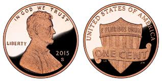 penny s 2015 s lincoln shield cent copper plated zinc penny value and prices