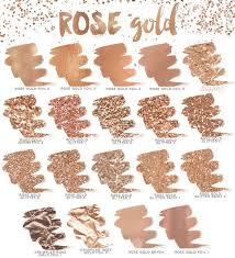 rose gold l shade rosé gold shades l cores tons illustration pinterest gold
