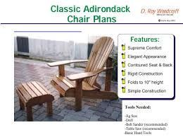 Homemade Adirondack Chair Plans 17 Free Adirondack Chair Plans You Can Diy Today