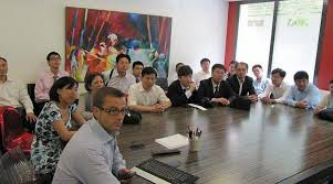 chambre des notaires angers les notaires chinois étaient en visite à angers
