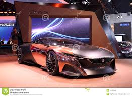 peugeot onyx engine peugeot onyx concept car editorial photo image 34753846