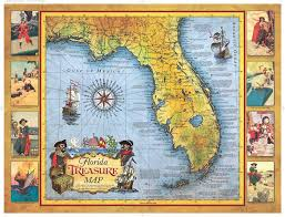 florida shipwrecks map there s treasure to be found on the beaches of southwest florida