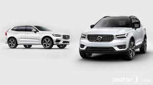 volvo xc60 white volvo xc40 vs xc60 how the new little swede stacks up