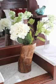 Diy Vase Decor Diy Log Vase U2014 Hello Honey