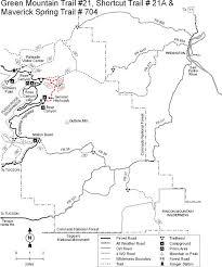 mt lemmon hiking trails map coronado national forest green mountain trail 21