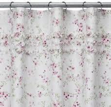 amazon com simply shabby chic u0026reg cherry blossom shower curtain