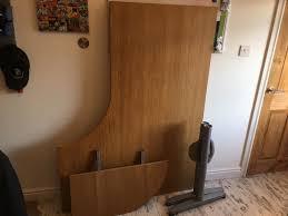 ikea galant lh corner desk in birch 120 x 80 posot class