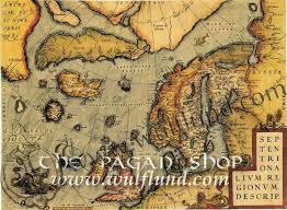 map of n europe northern europe historical map replica wulflund