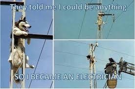 Power Lineman Memes - electrician memes saboteur365