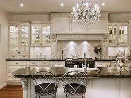 Beautiful White Kitchen Cabinets White Kitchen Chandelier Chandelier Models