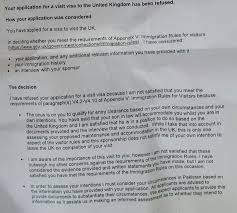 Employment Letter For Uk Business Visa citizens what should we do about a uk standard visitor