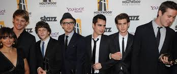 the social cast the social network cast video hollywood awards gala