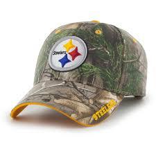 nfl pittsburgh steelers realtree cap hat by fan favorite