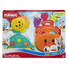 baby gift sets playskool busy baby gift set toys