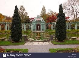 Westbury Botanical Gardens Westbury Gardens House On Island Ny Stock Photo 64355514