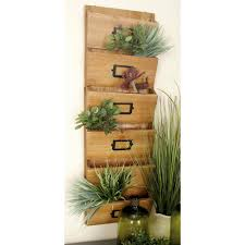 home basics 3 shelf 6 in x 20 in bamboo letter rack lr01068