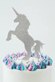 unicorn cake topper unicorn party cake topper the sprinkle