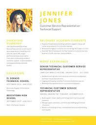 customer service resumes objectives unforgettable representative