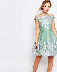 chi chi london chi chi london off shoulder mini prom dress with