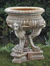 vintage lead jardiniere garden ideas planters and gardens