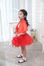 2017 little red riding hood costume kids princess halloween